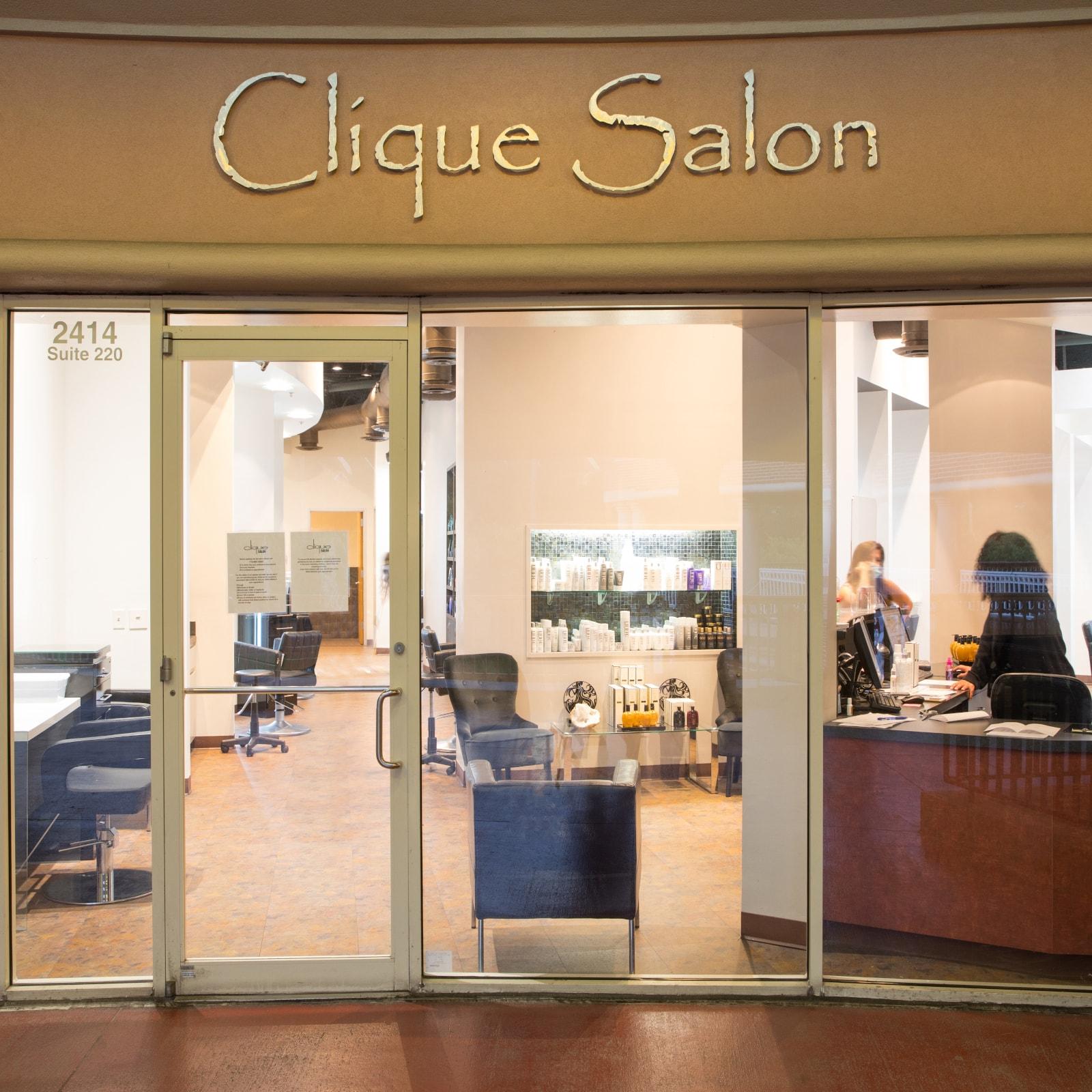 clique salon houston